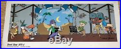 Warner Brothers Cel Soundstage Bugs Bunny Pepe Rare Signed Chuck Jones Cell