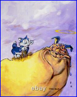 Warner Brothers-Chuck Jones-Limited Edition Canvas-All You Knead Is Love