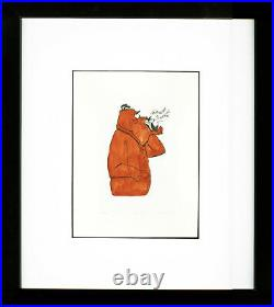 Warner Brothers-Chuck Jones-Limited Edition Etching-Marc Anthony and Kitty