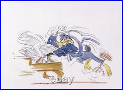 Warner Brothers-Chuck Jones-Limited Edition Paper-Daffy Duck-Daffy Piano