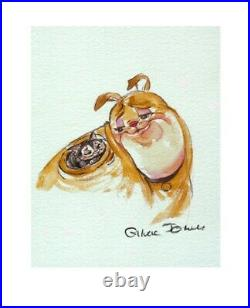 Warner Brothers-Chuck Jones-Limited Edition Paper-Marc Anthony and Kitty
