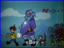 Warner Brothers/Chuck Jones' Peter & the Wolf Lte. Ed signed cel not WDCC Disney