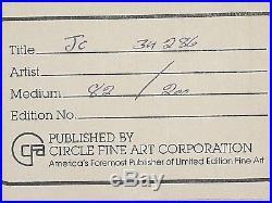 Warner Brothers Daffy Duck Cel COWBOY DAFFY signed Chuck Jones cell 82/100 LTD