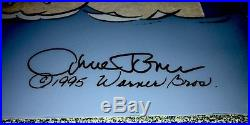 Warner Brothers Daffy Duck Cel Fish Tale Signed Chuck Jones Artist Proof Cell