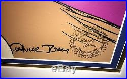 Warner Brothers Daffy Duck Cel Impossible Dream Signed Chuck Jones Rare Cell