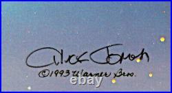 Warner Brothers Limited Edition Cel Duck Dodgers Finale Signed Chuck Jones