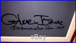 Warner Brothers cel Michigan J Frog 4 signed Chuck Jones rare animation cell