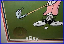 Warner brothers cel bugs bunny daffy duck 18th hare signed chuck jones cell
