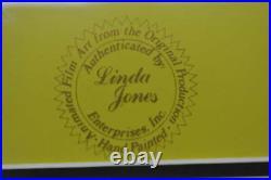 Weil Coyote Hand Ink Japan Anime Cel Genga Douga Chuck Jones Autographed