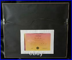 What's Opera Doc V Signed Chuck Jones Warner Brothers 240/750 Cel Framed