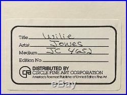 Wile E Coyote Chuck Jones Signed Production Cel JC 4652